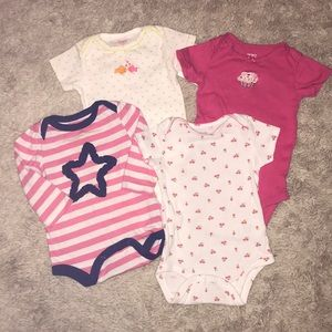 Other - LOT of four 9 month onesies